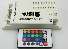 rgb led light controller three circuit dc5v 24v rgb led lighting controller led light