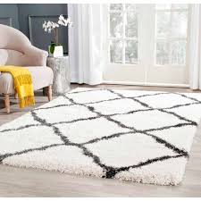 8 Foot Round Area Rugs by Better Homes And Gardens Swirls Soft Shag Area Rug Or Runner