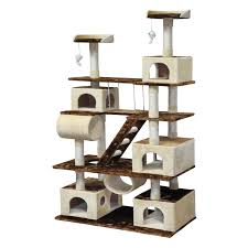 go pet club 87 5 in cat tree condo house furniture hayneedle