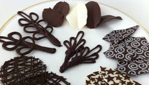 how to make chocolate garnishes decorations tutorial part 2 how to