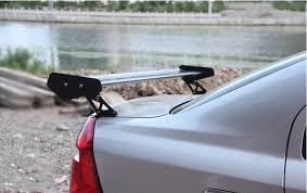 car rear spoiler wings aluminum racing styling fit three box auto