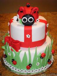 Ladybug Themed Baby Shower Cakes - photo ellen pompeo baby shower image