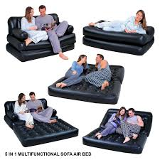 Inflatable Sofa Bed Mattress by 5 In1 Multifunction Inflatable Double Air Bed Sofa Chair Couch
