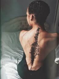 50 best and awesome spine tattoos for men and women