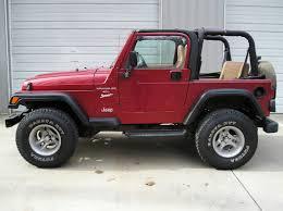 jeep wrangler maroon interior j6232