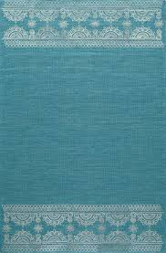 Green Modern Rug Teal Indian Transitional Flat Weave Modern Rug Rugknots