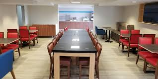 National Arts Club Dining Room by Holiday Inn Express Rochester Greece Hotel By Ihg