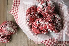 red velvet gooey butter cookies red velvet week taste and tell