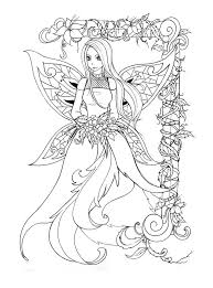 free printable coloring pages of elves free printable coloring pages of flowers and fairies tattoos designs