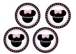 free pink minnie mouse birthday party printables catch party