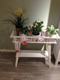 Entry Table Ikea Ikea Showroom Lantliv Plant Stand Makes It Possible To Decorate