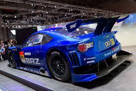 fastest subaru file subaru brz gt300 rear 2011 tokyo motor show jpg wikimedia