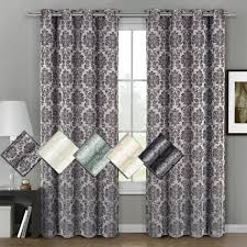 Home Classics Blackout Curtain Panel by 60 Off Aryanna Classic Floral Curtains Jacquard Grommet Panels