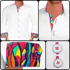 artist hand drawn dress shirts
