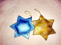 how too make twinkly star christmas decorations mummy of many
