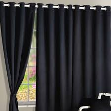 Blackout Curtains Black Blackout Curtains Buy Blackout Reversible Eyelet Curtains