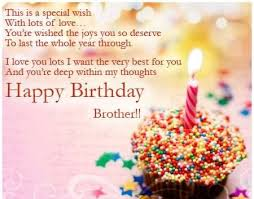 Happy Birthday Wish 290 Happy Birthday Wishes For Brother Quotes Allupdatehere