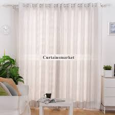 Gray Window Curtains And Gray Office Window Curtains With Striped Lines