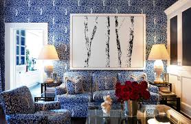 dorothy draper interior designer old decorating drench a room in pattern wsj