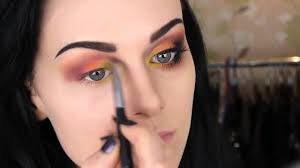 Sorceress Makeup For Halloween by Dark Sorceress Eyes Simple Makeup Youtube