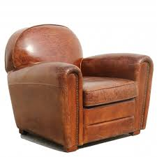 brown distressed leather club chair ottoman furniture images 19