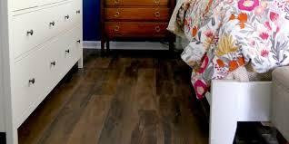 vinyl plank flooring in the bedroom renovations