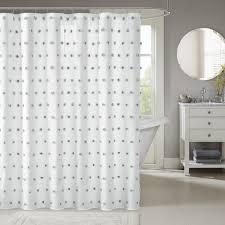 White Shower Curtain Madison Park Lauren White Shower Curtain Free Shipping On Orders