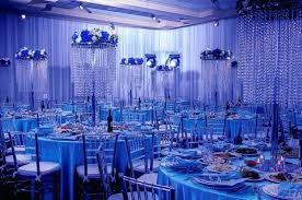 Center Piece Ideas Baby Blue Wedding Table Decorations Ice Crystal Centerpiece Ideas