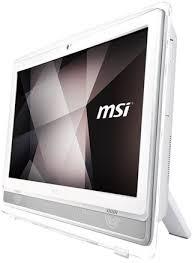 msi ordinateur de bureau achat ordinateur msi msi pro 22et 7m 086xeu tout en un 1 x pentium