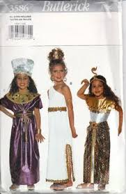 86 Children Halloween Costumes Sewing Patterns Images Girls Queen Cleopatra Fancy Dress Costume Kids Egyptian
