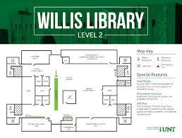 university library floor plan second floor university of north texas libraries