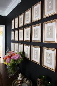 259 best gallery wall images on pinterest frames gallery walls love the dark walls with multiple frames would like to do this for our new loft space