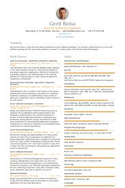 Resume Template For Software Engineer Download Java Developer Resume Sample Haadyaooverbayresort Com