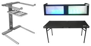 Dj Table Stand Grundorf Dj Table And 1652 Lycra Facade Package