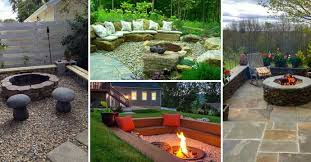 Backyard Fire Pits Ideas by 22 Backyard Fire Pit Ideas With Cozy Seating Area U2013 Homedesigninspired