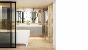 lli design interior designer london interior luxury modern open plan master ensuite bathroom with sauna