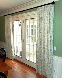 Double Panel Curtains Astounding French Door Panel Curtains 48 On Curtain Rods With