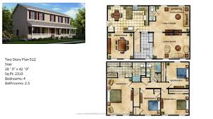 Floor Plans Two Story by Modular Home Two Story 516 1 Jpg