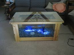 Coffee Tables With Led Lights Furniture Extraordinary Glass Top Coffee Table Plus Blue Led