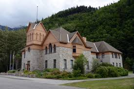 alaska house 43 mccabe college was built in 1899 of native granite and now