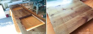 Diy Bathroom Vanity Top How To Build U0026 Protect A Wood Vanity Top A Houseful Of Handmade