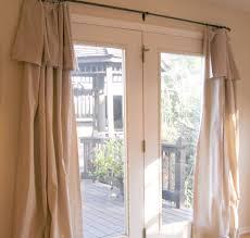 Sliding Door Curtain Ideas Decorating Patio Door Curtain Ideas Homesfeed With Decorating