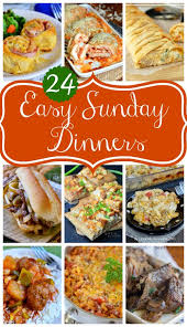 Dinner Easy Ideas Best 25 Easy Sunday Dinner Ideas Only On Pinterest Ground Beef
