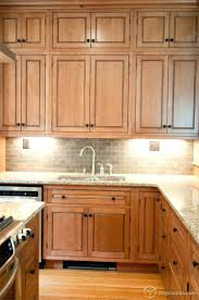 Profile Cabinets Kansas City by Traditional Kitchen Cabinets Birch With Clear Lacquer Finish