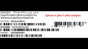 how to print the iphone labels from label printer youtube