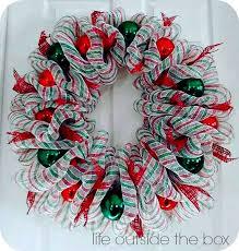 deco mesh wreath tutorial deco mesh wreaths