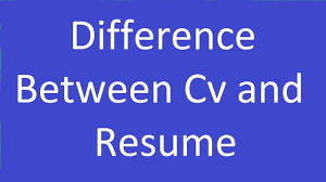 What Is The Difference Between Resume And Cv Difference Between Cv U0026 Resume Youtube