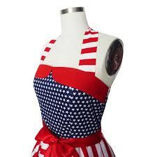 American Flag Corset 4th July Usa Dress American Flag Dress Stars Stripe