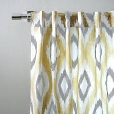 Blue Ikat Curtain Panels Ikat Curtains Ezpass Club