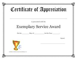 7 best images of service award certificate service award